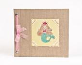 Baby Book - Baby Memory Book - Girl, Mermaid, Baby Album - Mermaid Baby Memory Book - Hugs and Kisses XO Baby Memory Book