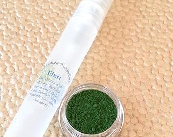Green Eyeliner- DIY All Natural, Vegan Eyeliner in IVY