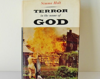 Terror In The Name Of God Hardcover 1965 Nudist  Doukhobors