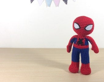 Spiderman amigurumi Etsy