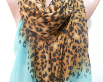 So soft Cotton Scarf Shawl Lightweight Scarf Leopard Print Scarf Animal Scarf Women Fashion Accessories Mothers Day Gift Ideas For Her