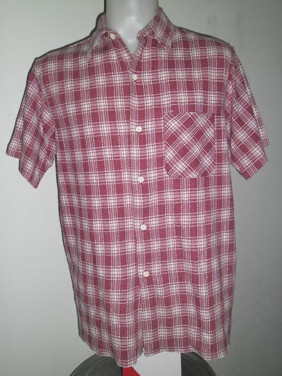 Fantastic purple white cream color cotton work shirt union for White cotton work shirts