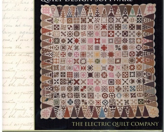 Dear Jane Quilt Design Software from The Electric Quilt Company  9118