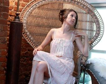 Gypsy Lace Floral Dress