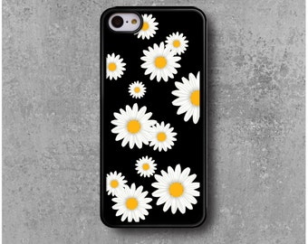 iPhone 5C Case Flowers Daisies