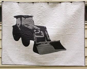 The Dozer - Tractor Quilt