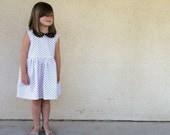 GOLD DOT Socialite Dress - Sizes 2T-6T