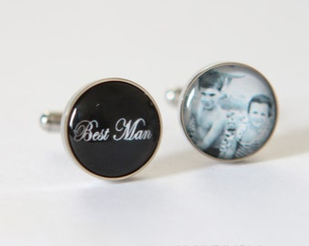Best Man gift Groomsmen, Best Man cuff link, the Best Man gifts, Brother of the groom gift, wedding gift for brother