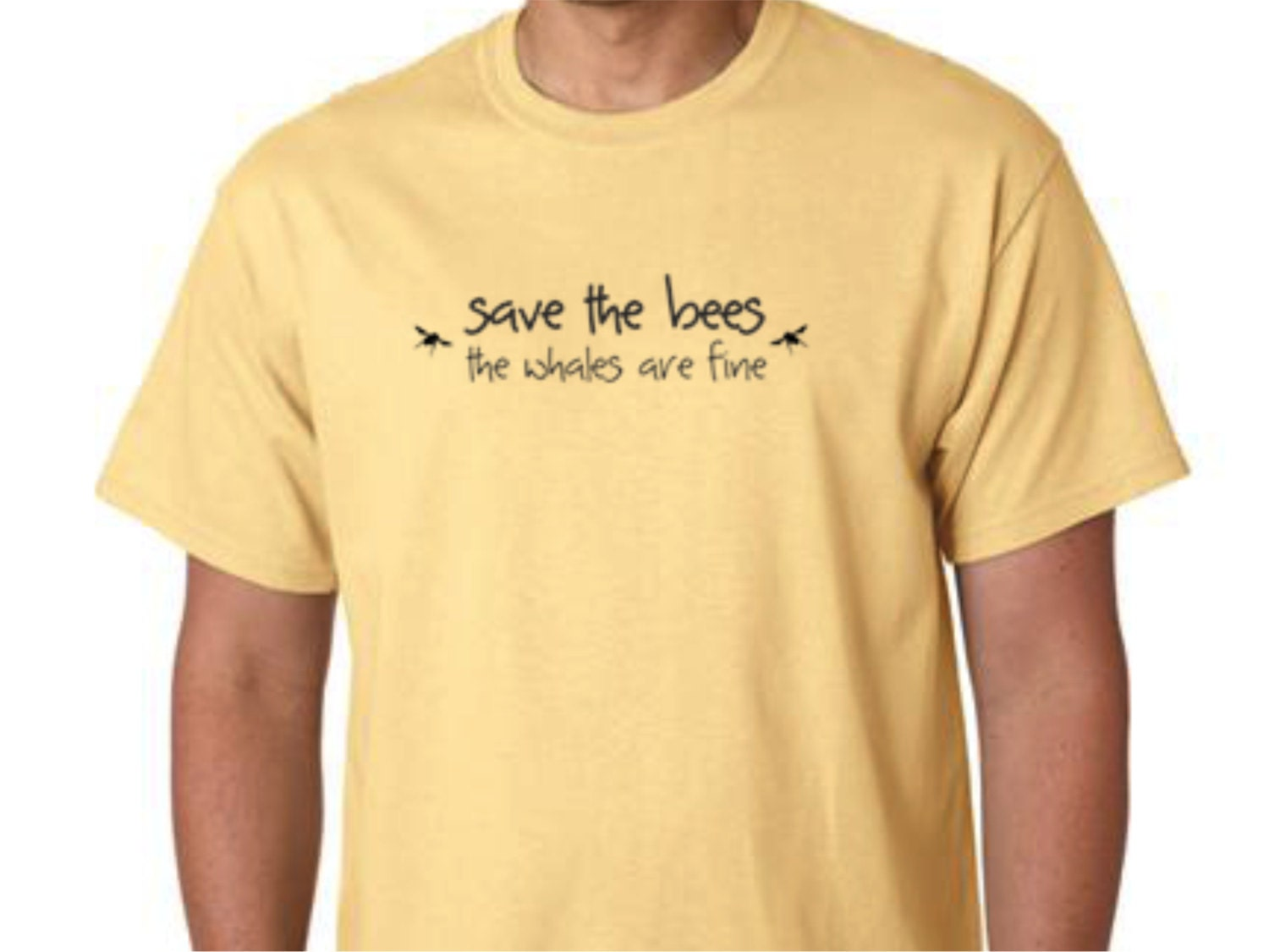 T Shirt Honey Bee Tee Shirt Save The Bees The Whales