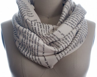 Little Women Book Scarf