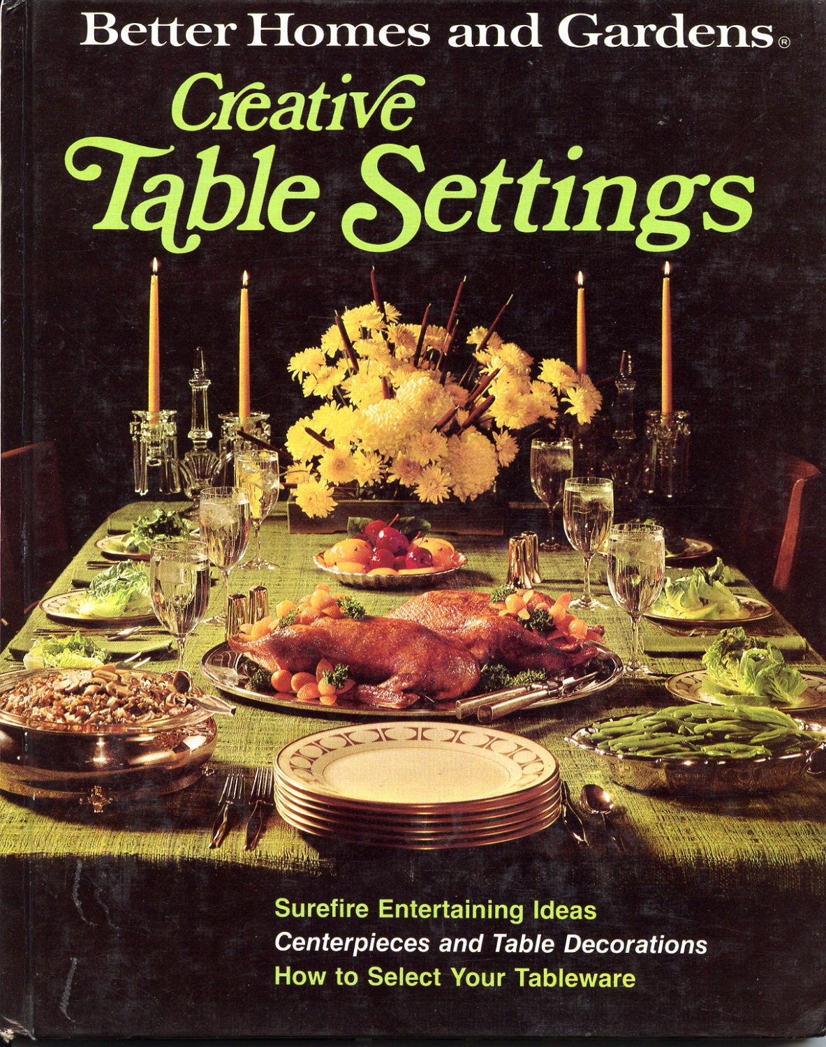 Better Homes And Gardens Creative Table Settings Craft Book