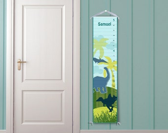 Dinosaurs Childrens Personalized Growth Chart