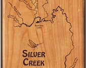 SILVER CREEK River Map - ...