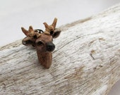 Buck Stag Deer Lapel Pin - Ready to ship! - Hat  Pin, Tie Tack