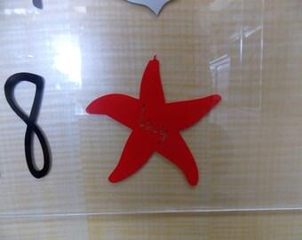 Cute Vinyl Starfish Decal