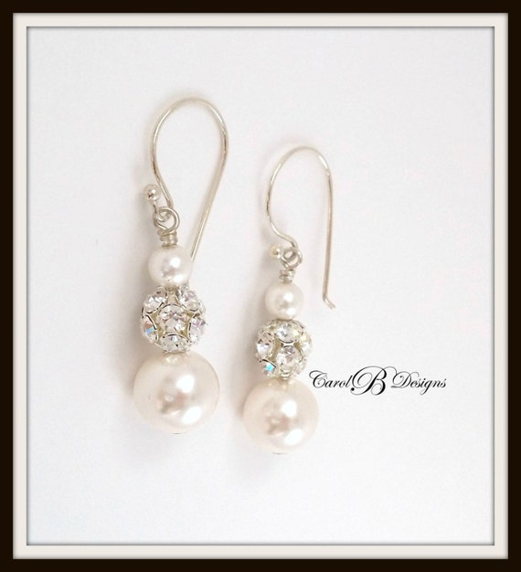 Mother Of The Bride Jewelry: Bridal Earrings Mother Of The Bride Earrings Bridal Jewelry