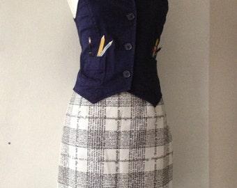 Moschino intellectual artist waistcoat