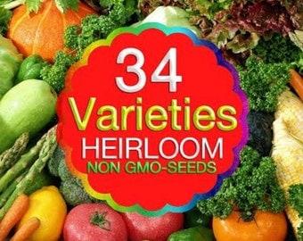 Organic Heirloom Seeds Non-gmo Non-hybrid