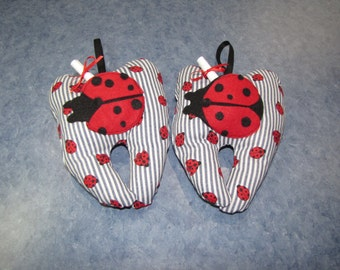 Tooth Fairy Pillow - Lady Bug