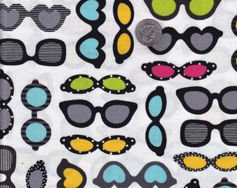 One yard - Sunshine Sunglasses - Ann Kelle This and That - Robert Kaufman cotton quilt fabric