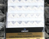 Ivory photo corners self-adhesive acid-free 252 ct.