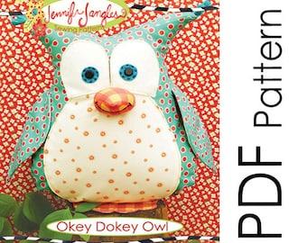 PDF Okey Dokey Owl Pattern