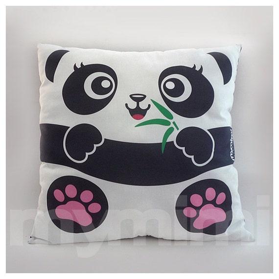 Pillow With Animal : Panda Decorative Panda Pillow Stuffed Animal Kids Cushion