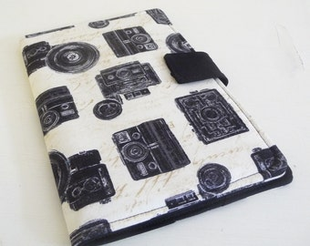 Cool iPad Mini Cover Vintage Camera Print Cotton