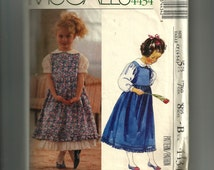 McCall's Girls' Jumper, Blouse and Petticoat Pattern 4434