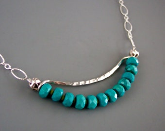 Curve Bar in Turquoise