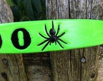 Spider Collar Neon Green