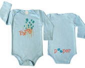 Cyber Monday Sale Party Pooper Long Sleeves Baby Organic Funny Onesie Gifts