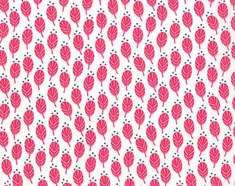 SALE - Color Me Happy - Sprouts in Pink: sku 10822-12 cotton quilting fabric by V and Co. for Moda Fabrics - 1 yard