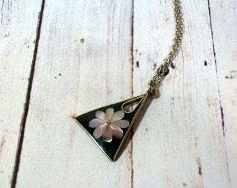 Abalone Shell Inlay Necklace