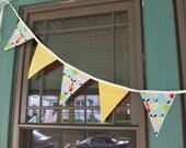 Apple and Polka Dot Decorative Flags - Birthdays, Holidays, Everyday