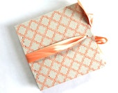 Coral Moroccan Large Guest Book and Photo Album - Made to order