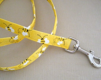 Yellow Bumblebees  - Dog Leash
