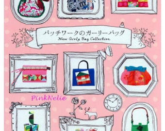 New Girly Bag Collection - Japanese Craft Book
