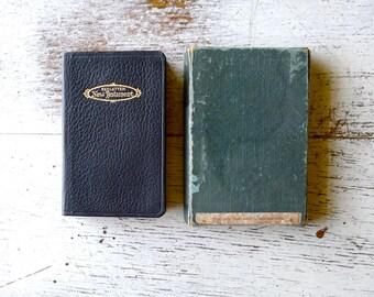 Holman Jewel Black Leather Pocket Bible Red Letter Edition ...