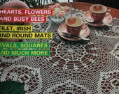Decorative Crochet Patterns Doilies Tablecloth Runner Bedspread Number 3 May 1988 Vintage Paper Original NOT a PDF.