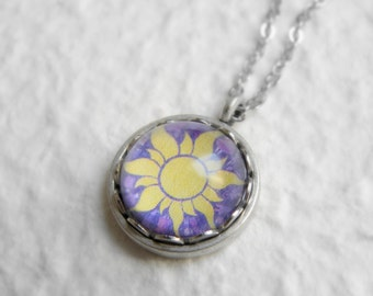Tangled Sun Necklace - Disney Rapunzel Necklace