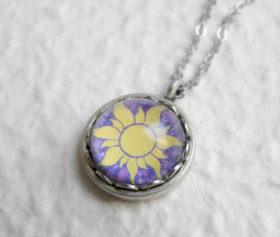 Tangled Sun Necklace - Disney Rapunzel Necklace