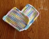 2 double knit sponges - choose your color