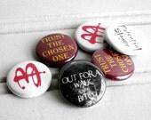 Buffy Inspired Pinback Button