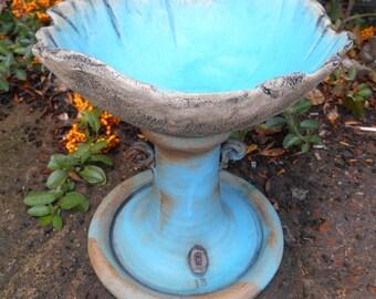 New Bowl top Birdbath.