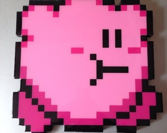 gulp - kirby wall art