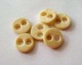 Antique Bone Underwear Buttons - Authentic Vintage Accessory for Reenactor or Costume