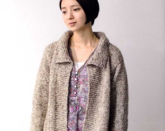 Light and Comfortable Knit Clothes - Japanese Craft Book MM