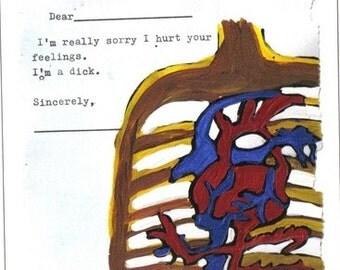 I'm super sorry