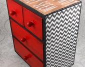 Custom Twin Peaks inspired Black Lodge Stash Jewelry Box